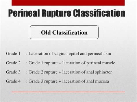 steps of repairing total perineal rupture evidenced based