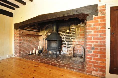 beige inglenook fireplace design ideas photos