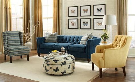 Navy Sofa Living Room Great Navy Tufted Sofa 65 For Living Room Sofa Ideas With Navy Tufted Sofa