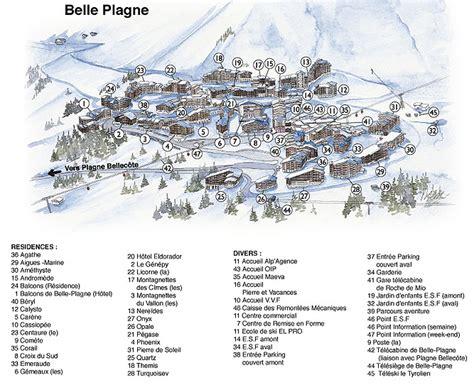 Accès à La Plagne, accès station de ski La Plagne   Ski Planet