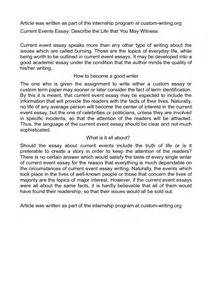 Current Event Essay by Best Photos Of Current Events Paper Outline Definition Essay Outline Template Current Event