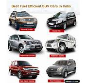 Best Fuel Efficient SUV Cars In India