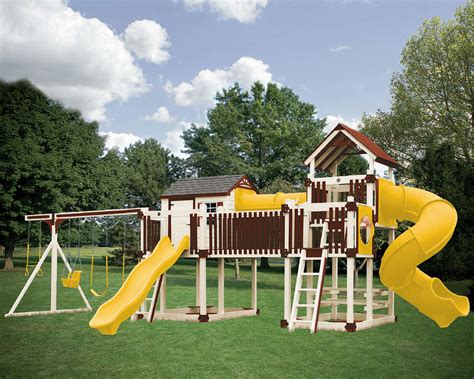 swing set tunnel c3 tunnel escape vinyl swing set outdoor play equipment