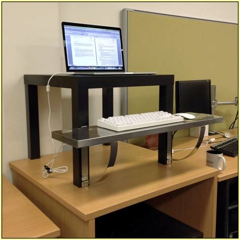 how to build a standing desk home made standing desk home design