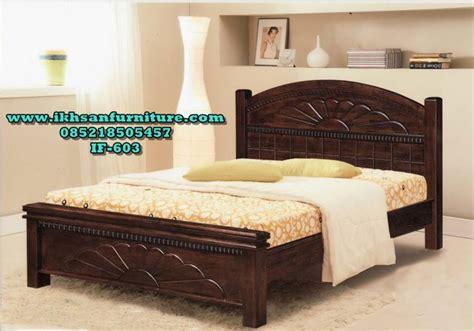 Ranjang Minimalis Terbaru jual tempat tidur minimalis kayu jati model tempat tidur