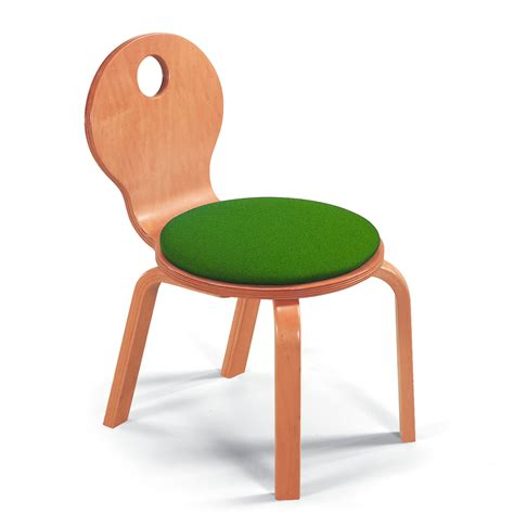 child size chair children s bent wood upholstered seat chair