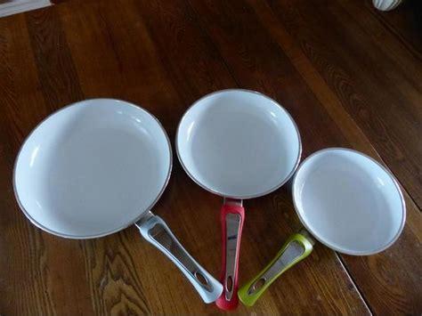 ceramic cookware by smart living ensemble de poelon