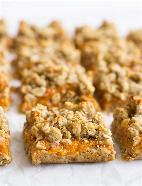 apple bars with oatmeal crumb topping apricot cherry bars with oatmeal crumble topping
