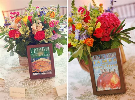 book themed wedding ideas for bookie english major