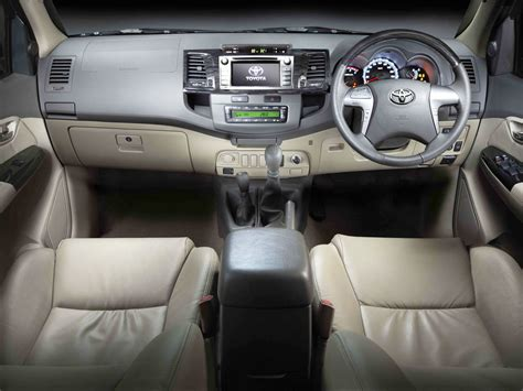 Fortuner Interior 2014 by Toyota Fortuner Specs 2011 2012 2013 2014 2015 2016