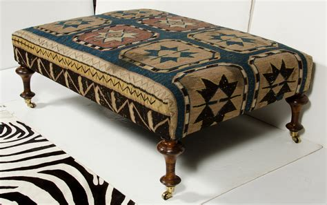 kilim benches and ottomans kilim ottoman omero home