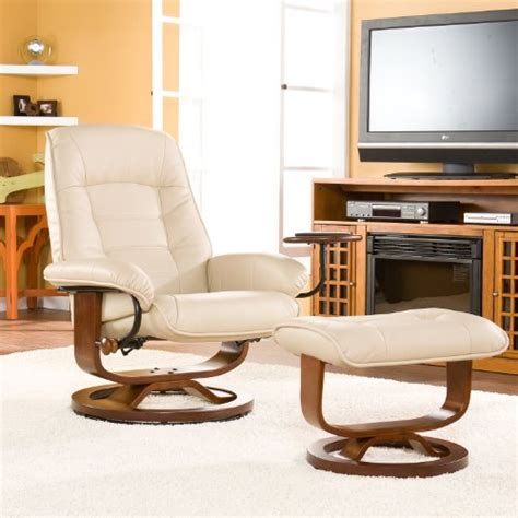 Office Chair And Ottoman Where To Buy Adjustable Taupe Leather Recliner And Ottoman Office Chair Jure Hussain