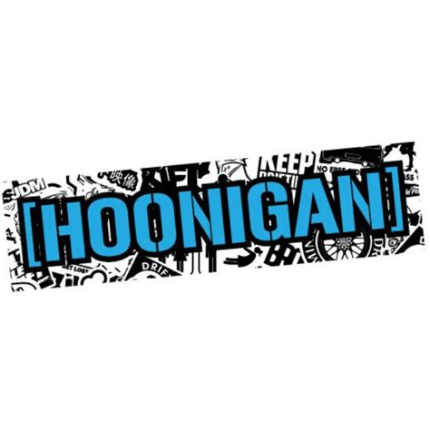 hoonigan sticker hoonigan stickers kamos sticker