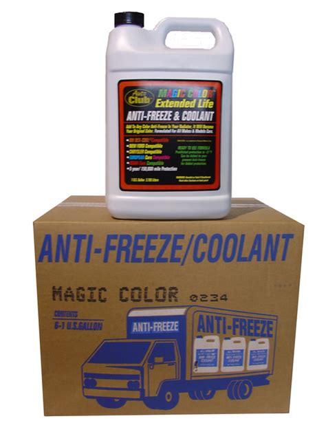 what color is dexcool antifreeze