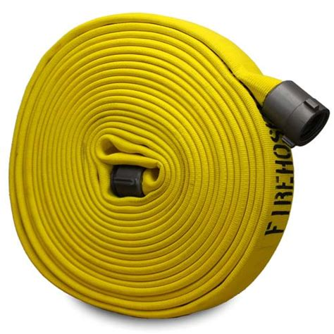 yellow    forestry hose alum npsh couplings