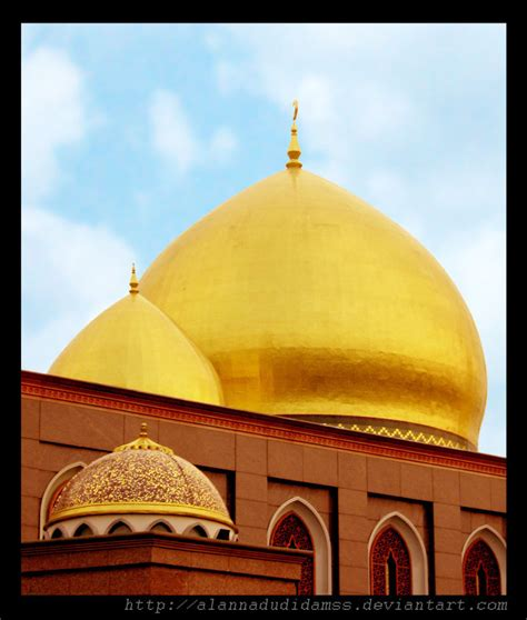 wallpaper masjid kubah emas masjid kubah emas by alannadudidamss on deviantart