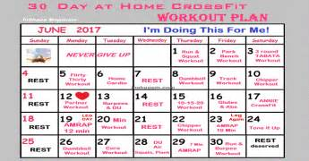 30 day workout plan for at home 30 day at home crossfit workout plan inshape magazine