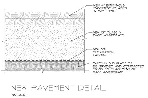 pavement section asphalt pavement details related keywords asphalt