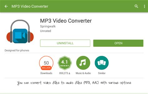 how to convert any video format to mp3 or wav using vlc convert video to audio on android with mp3 video converter