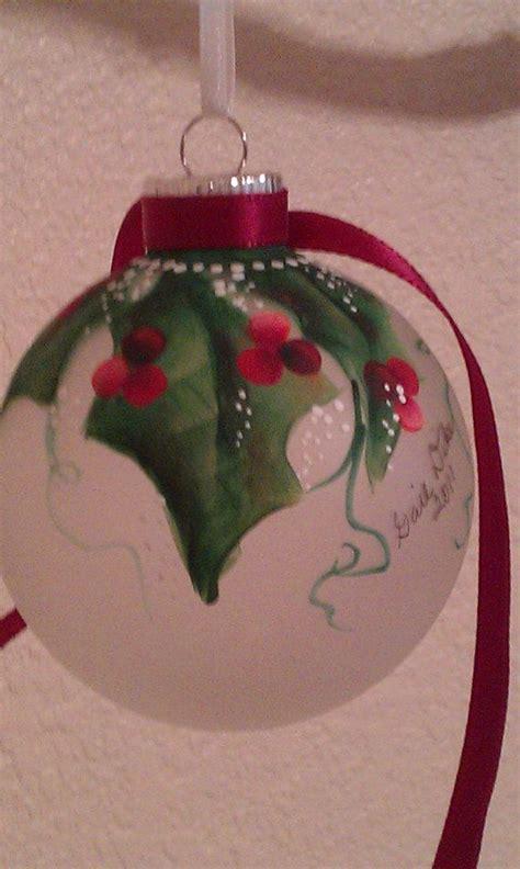 painted christmas ornaments ideas  pinterest