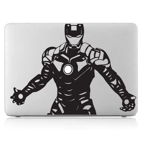Macbook Aufkleber Ironman by Iron Laptop Macbook Vinyl Decal Sticker