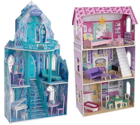 frozen doll houses disney frozen dollhouse kidkraft dollhouses starting at 44 99 shipped