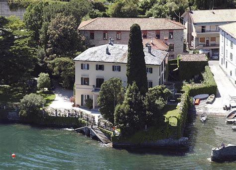 george clooney home in italy george clooney lake como homes lonny