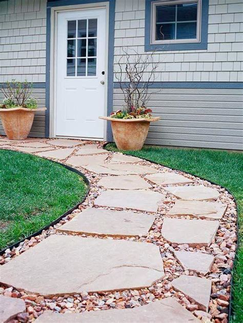 walkway ideas easy walkway idea