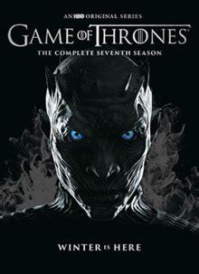 game of thrones season 6 wikipedia the free encyclopedia game of thrones season 7 wikipedia