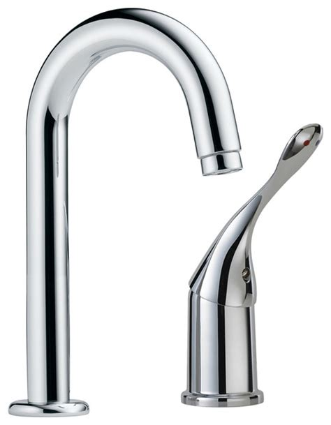 Delta Commercial Kitchen Faucet Delta Commercial 711lf Hdf Single Handle Utility Faucet Modern Bathroom Faucets By