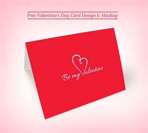 vakentine card photoshop template 25 psd flyers elements for st s day free