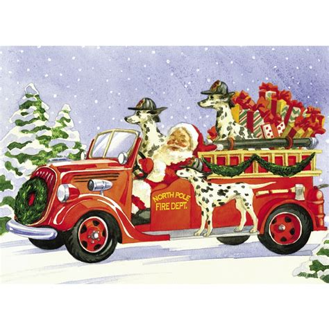 firefighter christmas firefighter christmas cards