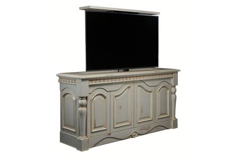 Motorized Cabinet by Tv Lift Furniture Country Cottage Motorized Tv Lift Cabinet