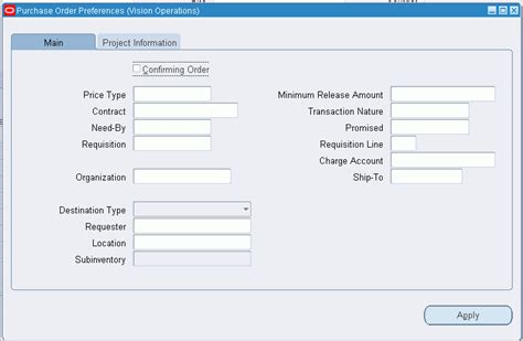 Oracle Purchasing User S Guide