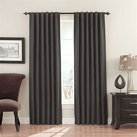 eclipse fresno blackout curtains eclipse fresno blackout window curtain panel 52 x 63 inch