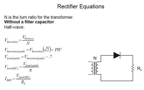 rectifier circuit equations 28 images diode equation thermal voltage 28 images cse251