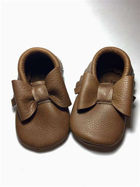 brown baby shoes brown baby moccasins leather moccasins baby shoes