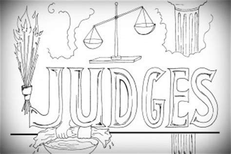 coloring pages for the book of judges free printable judges coloring page