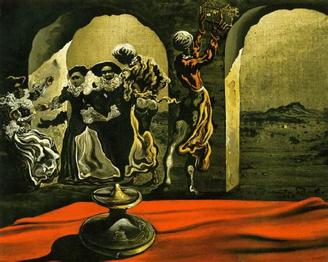 3 Paintings By Salvador Dali by Salvador Dali Painting Massacure