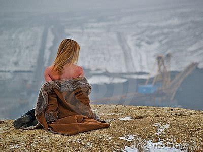imagenes de invierno triste paisaje industrial triste imagenes de archivo imagen