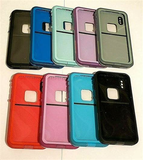 lifeproof fre series waterproof for iphone x iphone xs colors ebay
