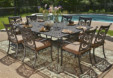 inspiration cast patio furniture with additional interior