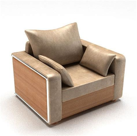 Retro Lounge Chair by Retro Lounge Chair 3d Model