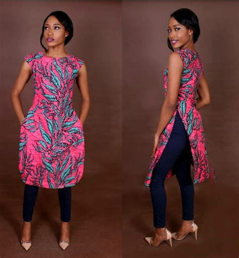 latest ankara tops  ladies  version esther adeniyi
