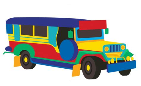 jeepney clipart philippine transportation