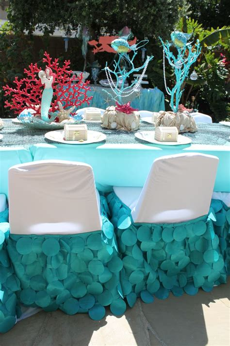 mermaid table decorations best 25 mermaid centerpieces ideas that you will