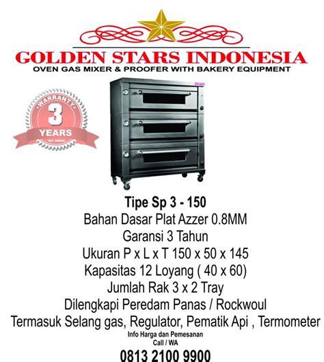 Oven Gas Golden Standar overn gas golden hasil maksimal untuk aneka kue dan