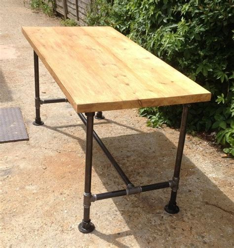 Pipe Dining Table Vintage Industrial Gas Pipe Dining Kitchen Table Diy Kitchen Dining Tables