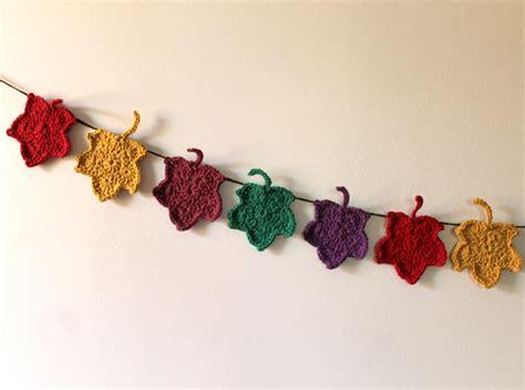 free crochet pattern leaf garland 26 diy leaf garland ideas guide patterns