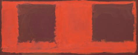 untitled painting and major rothko retrospective at museum of